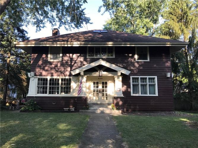 800  Woodruff Place Middle Drive Indianapolis, IN 46201 | MLS 21660429