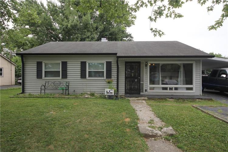 3441 6th Avenue Indianapolis, IN 46221 | MLS 21660445 | photo 1