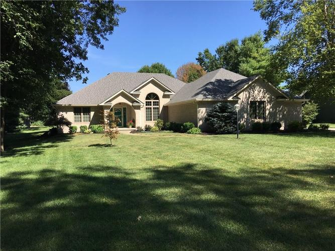 5483 N Acorn Court Greenfield, IN 46140 | MLS 21660898
