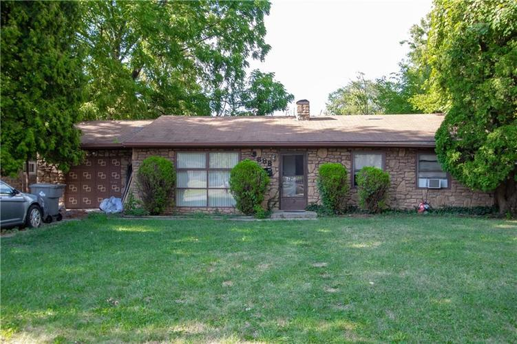 5888 E 45th Street Indianapolis, IN 46226 | MLS 21661058