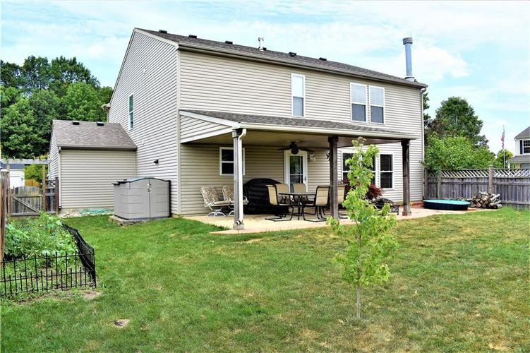 8607 Belle Union Drive Camby, IN 46113 | MLS 21661153 | photo 2