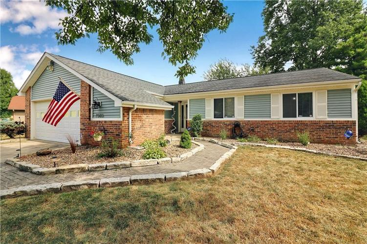 7505 BLUE CREEK S Drive Indianapolis, IN 46256 | MLS 21661217 | photo 2