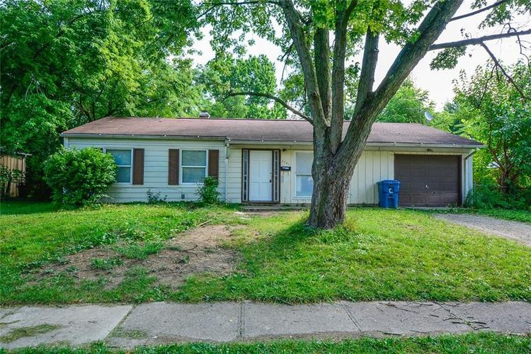 3741  Decamp Drive Indianapolis, IN 46226 | MLS 21661795
