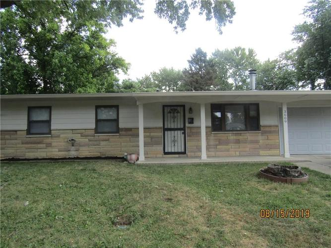 3609 N FACULTY Drive Indianapolis, IN 46224 | MLS 21662236 | photo 1