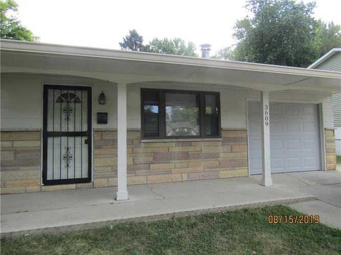 3609 N FACULTY Drive Indianapolis, IN 46224 | MLS 21662236 | photo 2