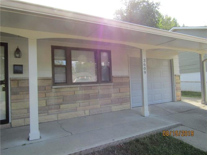3609 N FACULTY Drive Indianapolis, IN 46224 | MLS 21662236 | photo 4
