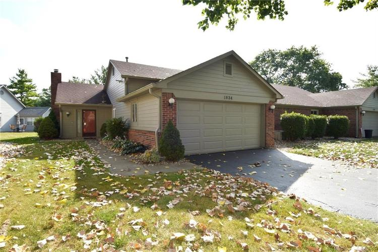 1834  Crystal Bay East Drive Plainfield, IN 46168 | MLS 21662744