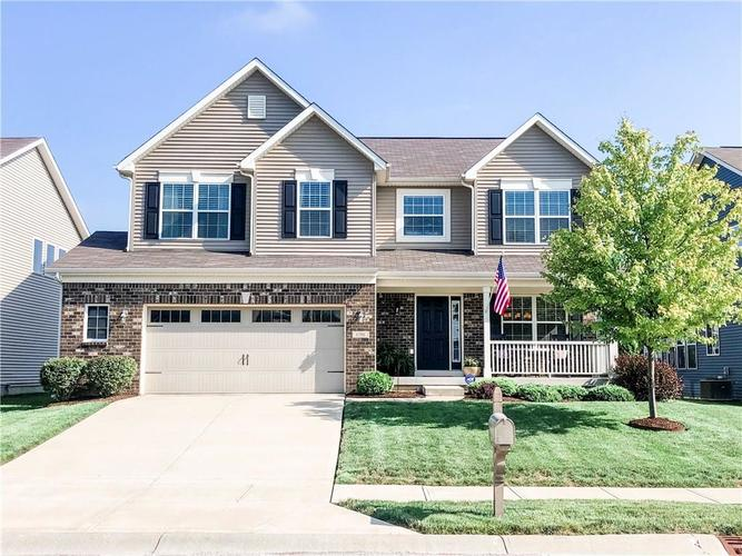 6186 Ringtail Circle Zionsville, IN 46077 | MLS 21663084 | photo 1