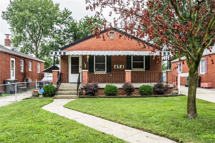 454 S Sheridan Avenue Indianapolis, IN 46219 | MLS 21663580