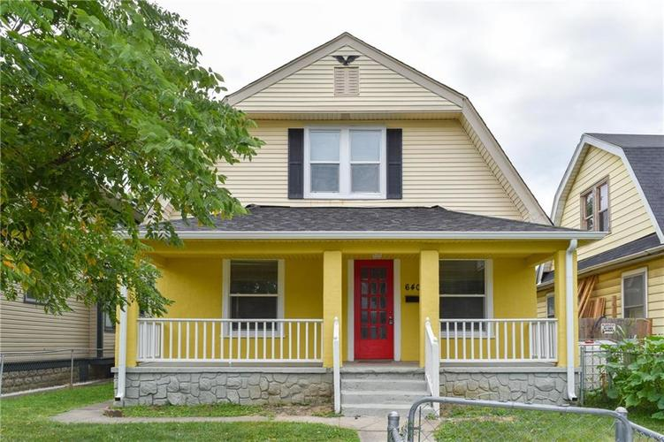 640 N OAKLAND Avenue Indianapolis IN 46201   MLS 21663663   photo 1