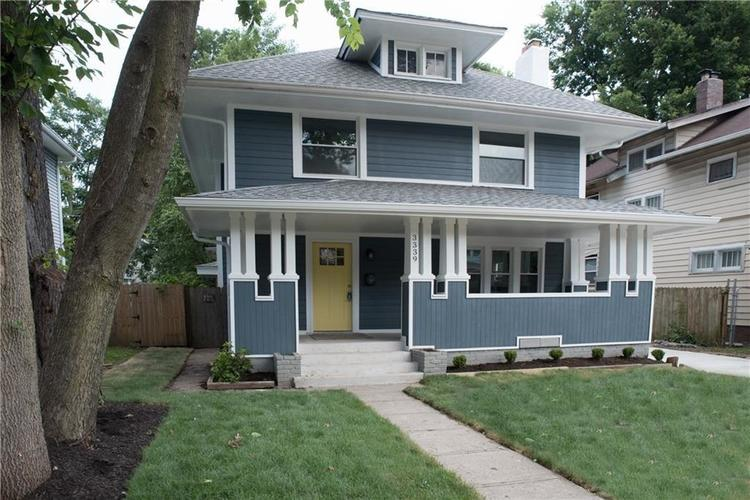 3339 N Broadway Street Indianapolis, IN 46205 | MLS 21664942