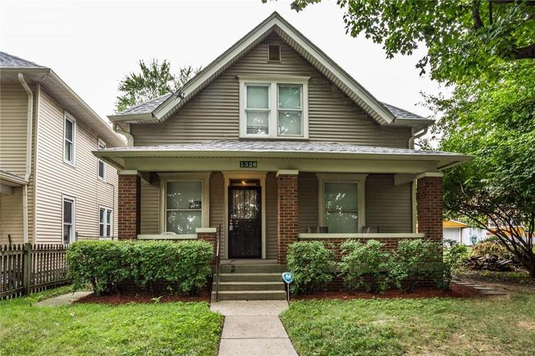 1326 Leonard Street Indianapolis IN 46203 | MLS 21665059 | photo 1