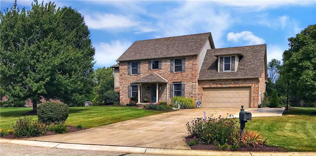 868 W MICHAELS Court Fountaintown, IN 46130   MLS 21665322   photo 1