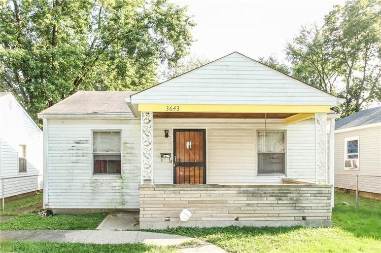 3643 W 12th Street Indianapolis, IN 46222 | MLS 21665483