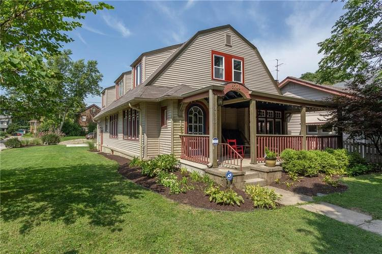 3906 Ruckle Street Indianapolis IN 46205 | MLS 21665883 | photo 1