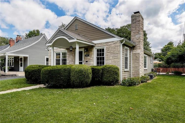 6103 Kingsley Drive Indianapolis, IN 46220 | MLS 21666384 | photo 1