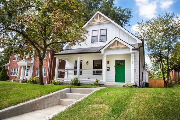 1106 N Temple Avenue Indianapolis IN 46201 | MLS 21666459 | photo 1