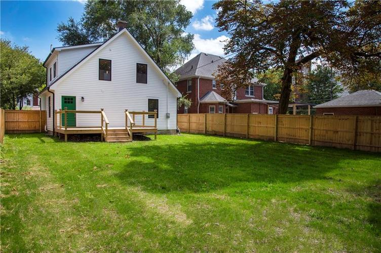 1106 N Temple Avenue Indianapolis, IN 46201 | MLS 21666459 | photo 43