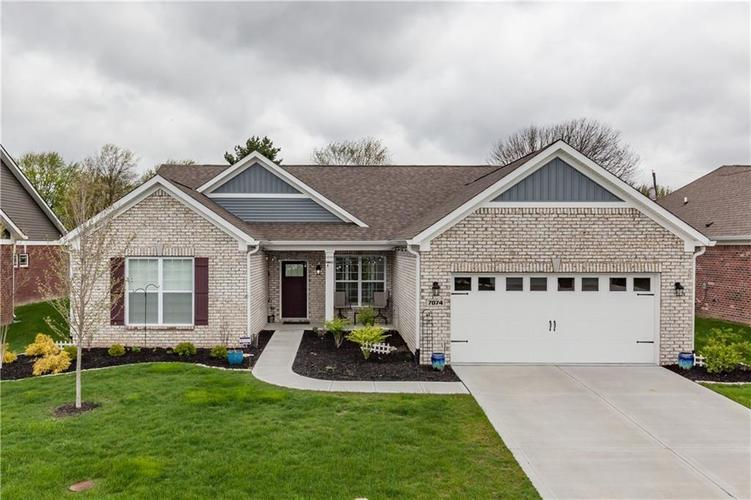 7074 W Ridge Run Court Greenfield, IN 46140 | MLS 21666769