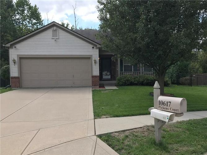10617 W Pickens Court Indianapolis, IN 46234 | MLS 21667083