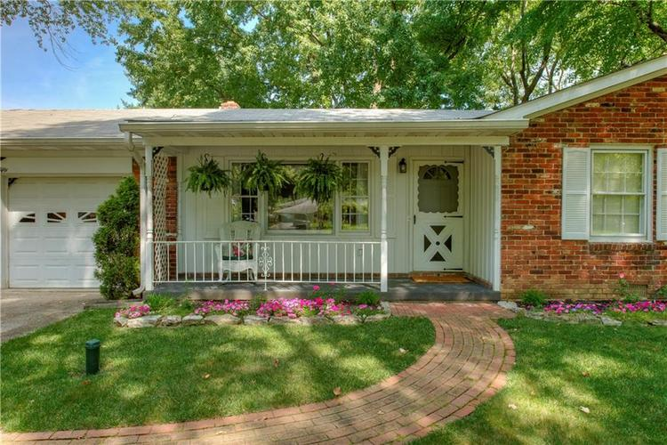 4050 WESTOVER Drive Indianapolis, IN 46268 | MLS 21667428 | photo 29