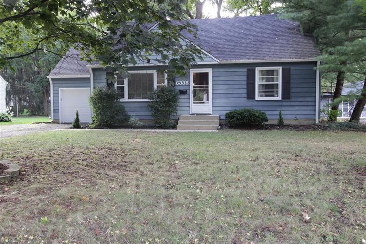 6338  Maple Drive Indianapolis, IN 46220   MLS 21667456