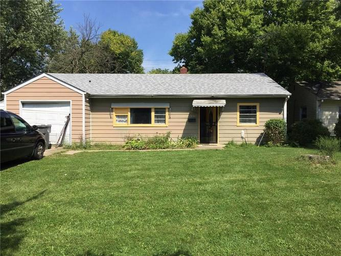 6156 E 25th Street Indianapolis, IN 46219 | MLS 21667965