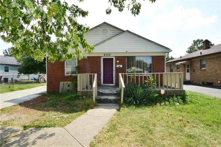 4735 E 34TH Street Indianapolis, IN 46218 | MLS 21668070