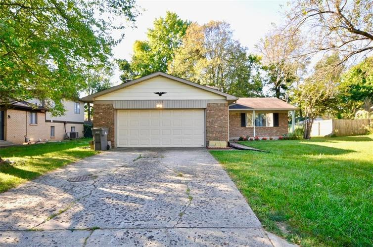 3315  Ivory Way Indianapolis, IN 46227   MLS 21668275