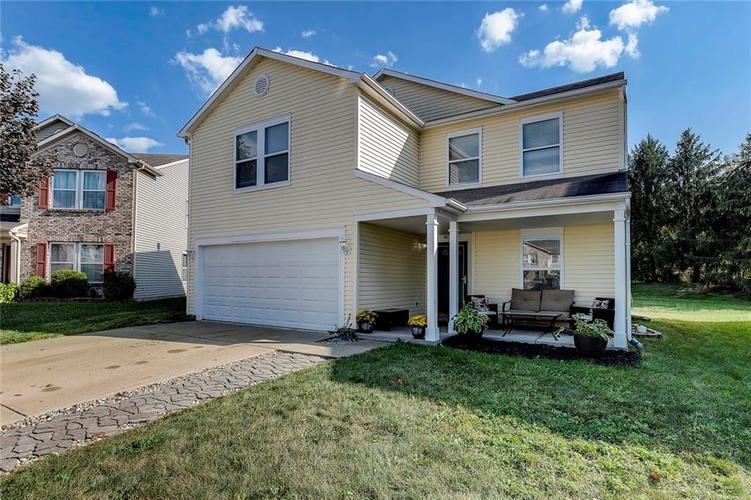 8747 BROWNS VALLEY Court Camby, IN 46113 | MLS 21668959 | photo 1