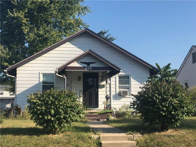 608 W Broadway Street Alexandria, IN 46001 | MLS 21670398