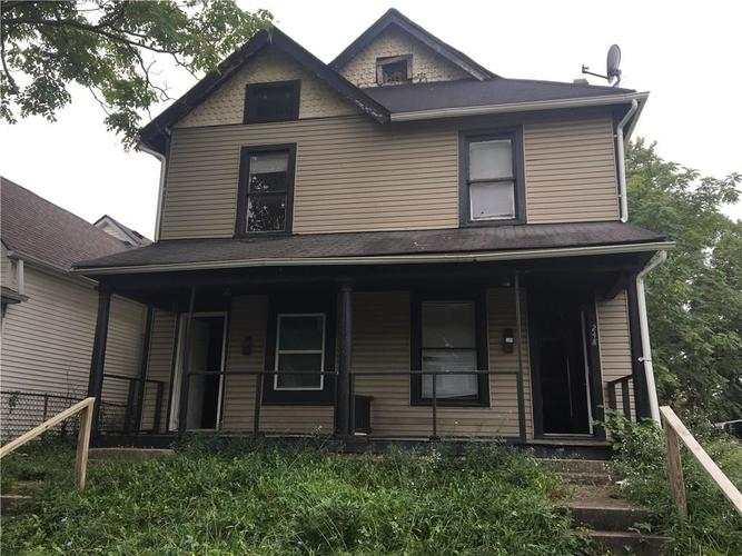 246 N Beville Avenue Indianapolis IN 46201 | MLS 21670693 | photo 1