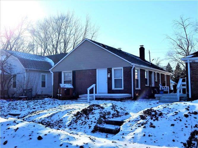 926 N Leland Avenue Indianapolis, IN 46219 | MLS 21670737