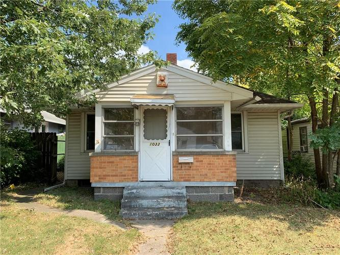 1033 N CONCORD Street Indianapolis, IN 46222 | MLS 21671592