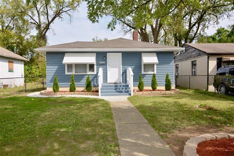3109 STATION Street Indianapolis IN 46218 | MLS 21672341 | photo 1