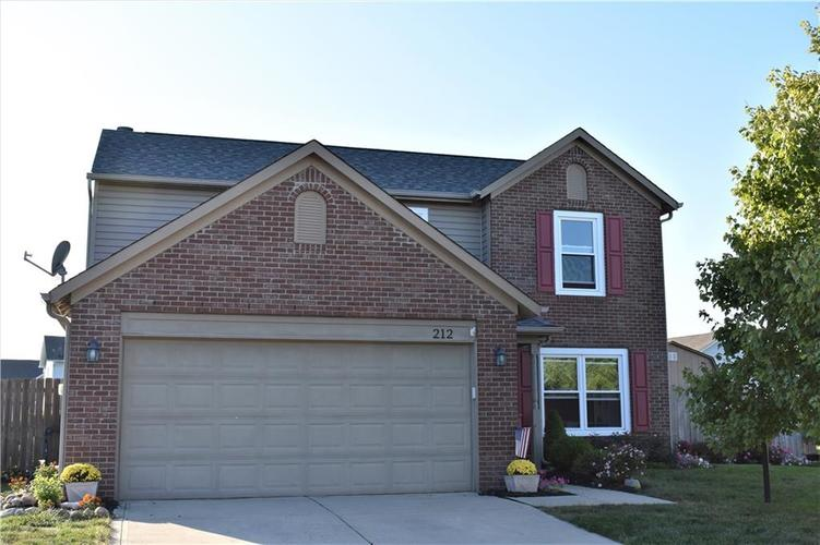 212  Brookview Drive Brownsburg, IN 46112 | MLS 21673523