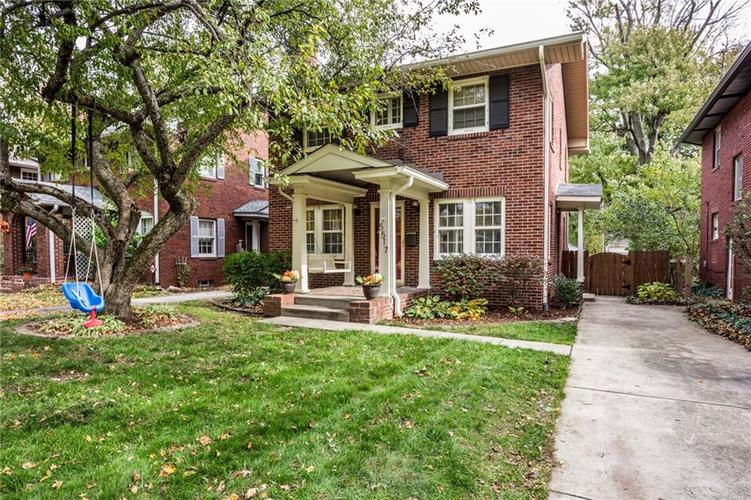 5517 N GUILFORD Avenue Indianapolis, IN 46220 | MLS 21674206 | photo 2