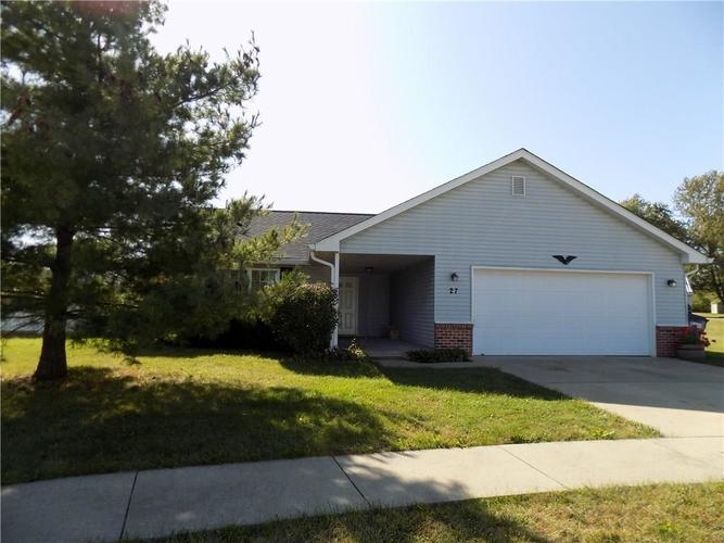 27 Cottonwood Court Greencastle, IN 46135 | MLS 21674873 | photo 1