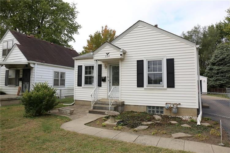 754 S Richland Street Indianapolis, IN 46221 | MLS 21675446 | photo 1