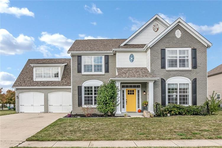 12596 Brookhaven Drive Fishers, IN 46037   MLS 21675481   photo 1