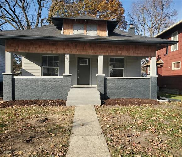 3926 GRACELAND Avenue Indianapolis, IN 46208   MLS 21675511   photo 2