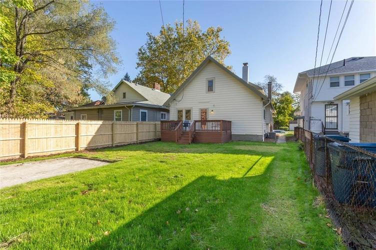 4014 Rookwood Avenue Indianapolis, IN 46208 | MLS 21676545 | photo 22