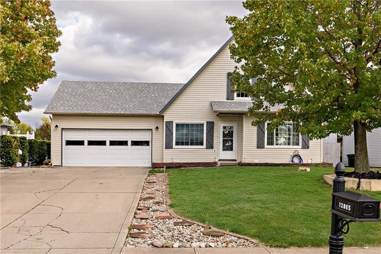 12865 Bridgett Drive N Camby, IN 46113 | MLS 21676636 | photo 2