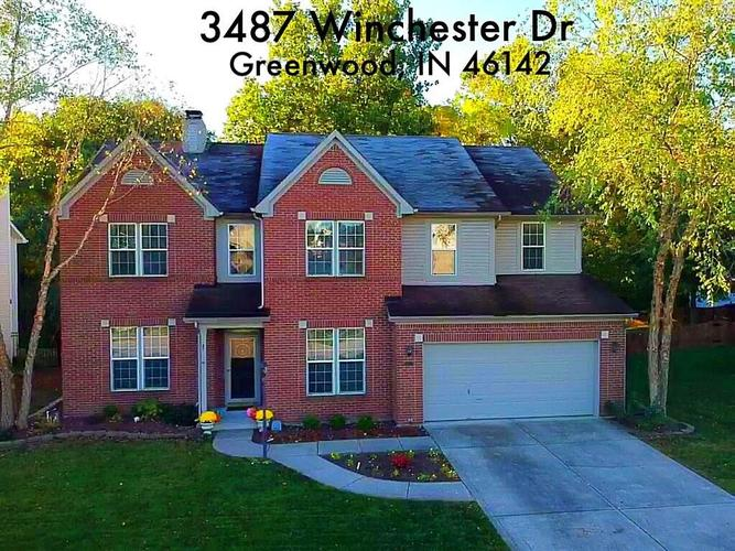 3487  WINCHESTER Drive Greenwood, IN 46143 | MLS 21677941