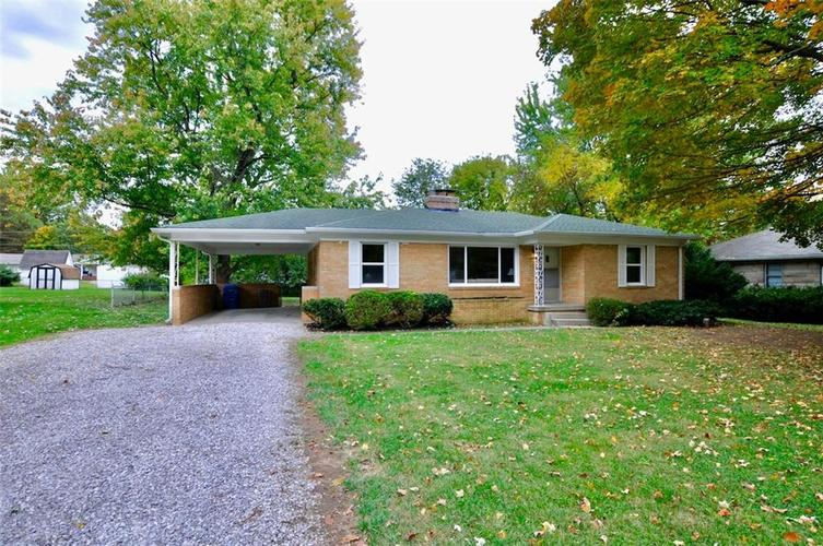 409 W Roberts Road Indianapolis, IN 46217 | MLS 21678201 | photo 1