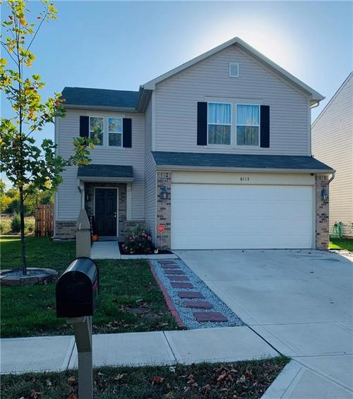 8113 Whistlewood Drive Indianapolis, IN 46239   MLS 21678232   photo 1