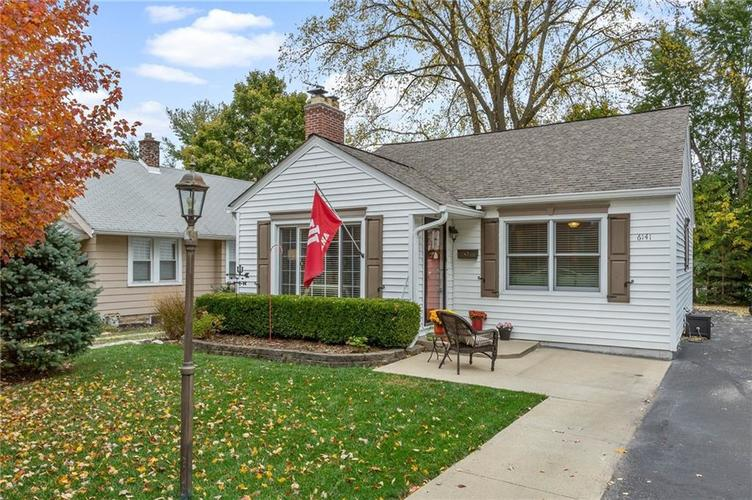 6141 N Ralston Avenue Indianapolis, IN 46220 | MLS 21678625 | photo 1