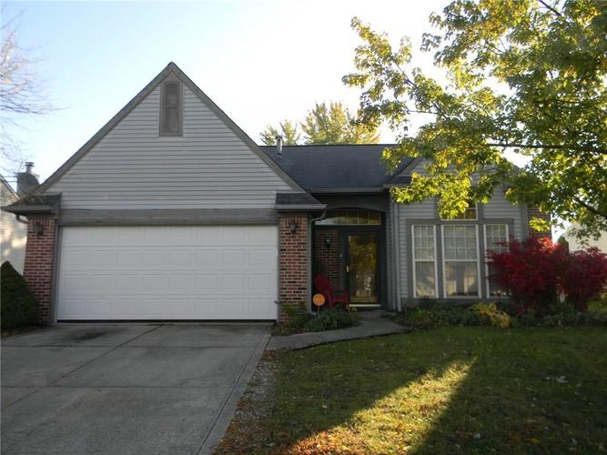 6123 Tybalt Lane Indianapolis, IN 46254   MLS 21678671   photo 1