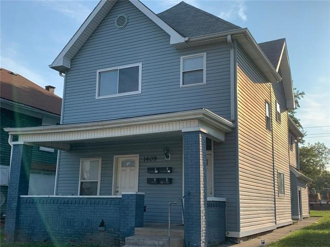 1409 S UNION Street Indianapolis, IN 46225   MLS 21678960   photo 1