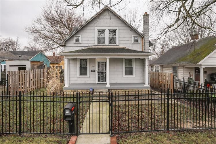 359 S Grand Avenue Indianapolis, IN 46219 | MLS 21679490